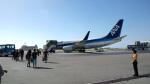 アキンさんが、石垣空港で撮影した全日空 737-781の航空フォト(写真)