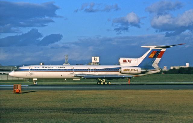 MIATモンゴル航空 Tupolev Tu-154/155 MPR-85644 伊丹空港  航空フォト   by Gambardierさん