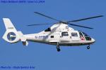Chofu Spotter Ariaさんが、東京ヘリポートで撮影したユーロコプタージャパン AS365N2 Dauphin 2の航空フォト(飛行機 写真・画像)