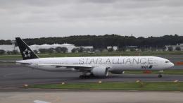 CHAN☆KIYOさんが、成田国際空港で撮影した全日空 777-381/ERの航空フォト(飛行機 写真・画像)