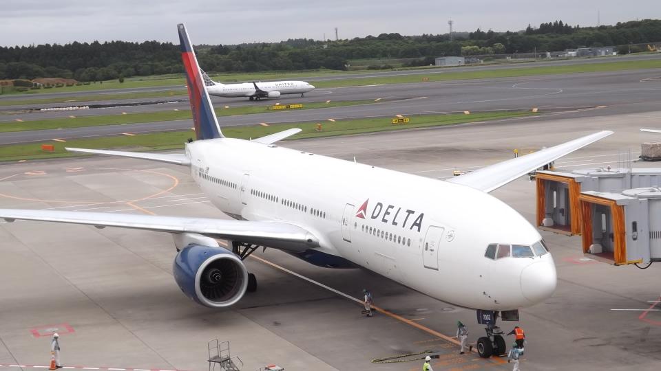 CHAN☆KIYOさんのデルタ航空 Boeing 777-200 (N861DA) 航空フォト