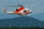 パンダさんが、旭川空港で撮影した北海道防災航空隊 412EPの航空フォト(飛行機 写真・画像)