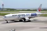 アイスコーヒーさんが、那覇空港で撮影した日本航空 777-246の航空フォト(写真)