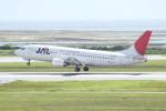 アイスコーヒーさんが、那覇空港で撮影したJALエクスプレス 737-446の航空フォト(写真)