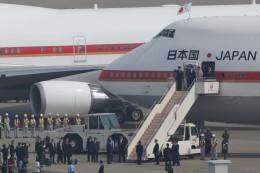Valentinoさんが、羽田空港で撮影した航空自衛隊 747-47Cの航空フォト(写真)