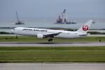 アイスコーヒーさんが、那覇空港で撮影した日本航空 767-346/ERの航空フォト(飛行機 写真・画像)