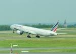 じーく。さんが、パリ シャルル・ド・ゴール国際空港で撮影したエールフランス航空 777-328/ERの航空フォト(飛行機 写真・画像)