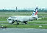 じーく。さんが、パリ シャルル・ド・ゴール国際空港で撮影したエールフランス航空 A319-111の航空フォト(飛行機 写真・画像)