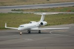 しんさんが、関西国際空港で撮影したメトロジェット G-V-SP Gulfstream G550の航空フォト(写真)