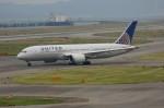 しんさんが、関西国際空港で撮影したユナイテッド航空 787-8 Dreamlinerの航空フォト(写真)
