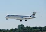 じーく。さんが、ハンブルク空港で撮影したブルガリアン・エア・チャーター MD-82 (DC-9-82)の航空フォト(写真)