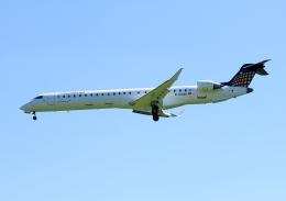 じーく。さんが、ハンブルク空港で撮影したユーロウイングス CL-600-2D24 Regional Jet CRJ-900LRの航空フォト(飛行機 写真・画像)