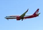 じーく。さんが、ハンブルク空港で撮影したエア・ベルリン 737-86Jの航空フォト(飛行機 写真・画像)