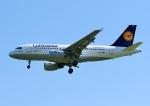 じーく。さんが、ハンブルク空港で撮影したルフトハンザドイツ航空 A319-112の航空フォト(飛行機 写真・画像)