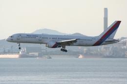 NIKEさんが、香港国際空港で撮影したロイヤル・ネパール航空 757-2F8の航空フォト(飛行機 写真・画像)
