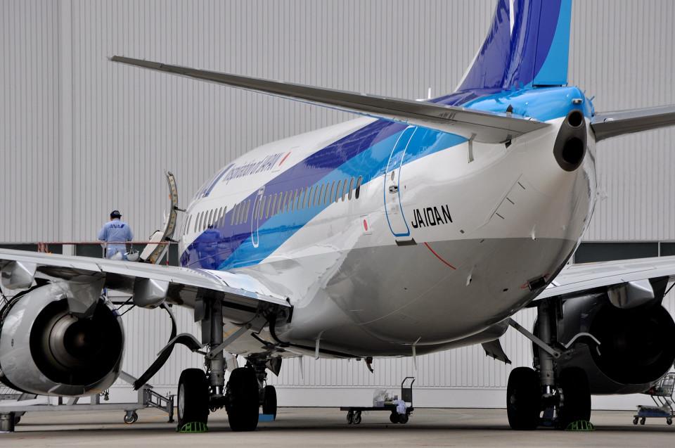 NALUさんの全日空 Boeing 737-700 (JA10AN) 航空フォト