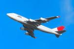 中村 昌寛さんが、新千歳空港で撮影した日本航空 747-446の航空フォト(写真)