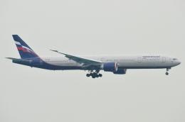 ぶる~すかい。さんが、香港国際空港で撮影したアエロフロート・ロシア航空 777-3M0/ERの航空フォト(写真)