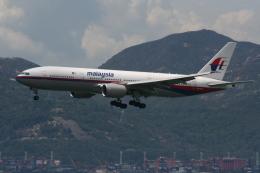 NIKEさんが、香港国際空港で撮影したマレーシア航空 777-2H6/ERの航空フォト(飛行機 写真・画像)