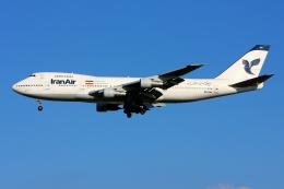 航空フォト:EP-IAH イラン航空 747-200