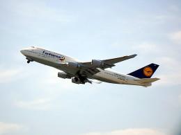 wrbluebl5さんが、関西国際空港で撮影したルフトハンザドイツ航空 747-430の航空フォト(飛行機 写真・画像)