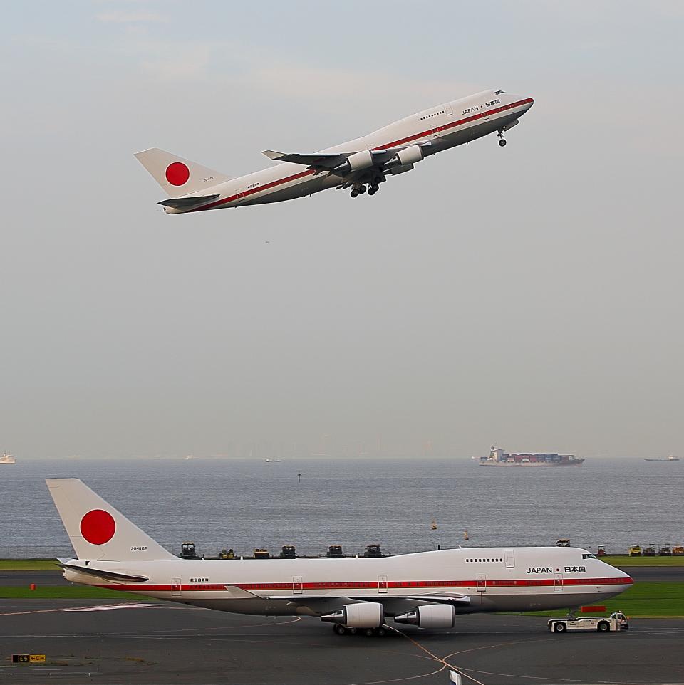 new_2106さんの航空自衛隊 Boeing 747-400 (20-1101) 航空フォト