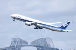 SKYLINEさんが、羽田空港で撮影した全日空 777-381/ERの航空フォト(写真)