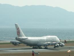 smmt3104さんが、関西国際空港で撮影した香港ドラゴン航空 747-412(BCF)の航空フォト(飛行機 写真・画像)