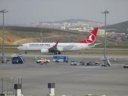 uhfxさんが、サビハ・ギョクチェン国際空港で撮影したターキッシュ・エアラインズ 737-8F2の航空フォト(飛行機 写真・画像)