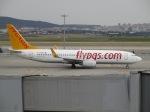 uhfxさんが、アタテュルク国際空港で撮影したペガサス・エアラインズ 737-82Rの航空フォト(飛行機 写真・画像)
