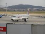 uhfxさんが、サビハ・ギョクチェン国際空港で撮影したカタール航空 A320-232の航空フォト(飛行機 写真・画像)