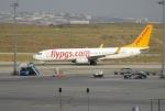 uhfxさんが、サビハ・ギョクチェン国際空港で撮影したペガサス・エアラインズ 737-82Rの航空フォト(飛行機 写真・画像)