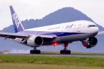TakahitoIkawaさんが、松山空港で撮影した全日空 777-281の航空フォト(写真)