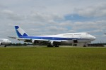 とりしちさんが、テューペロ・リージョナル空港で撮影した全日空 747-481(D)の航空フォト(写真)