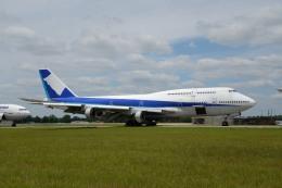 とりしちさんが、テューペロ・リージョナル空港で撮影した全日空 747-481(D)の航空フォト(飛行機 写真・画像)