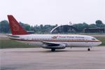 ぷのんさんが、プノンペン国際空港で撮影したロイヤル・クメール・エアラインズ 737-2H4/Advの航空フォト(写真)