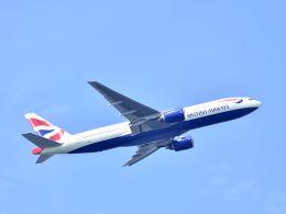 tomo@Germanyさんが、羽田空港で撮影したブリティッシュ・エアウェイズ 777-236/ERの航空フォト(写真)
