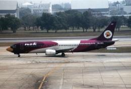 amagoさんが、ドンムアン空港で撮影したノックエア 737-4D7の航空フォト(飛行機 写真・画像)