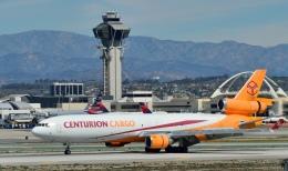 Cimarronさんが、ロサンゼルス国際空港で撮影したスカイ・リース・カーゴ MD-11CFの航空フォト(飛行機 写真・画像)