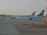Ken.Uさんが、エドモントン国際空港で撮影したウェストジェット 737-7CTの航空フォト(写真)