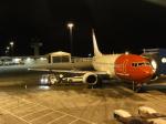 Ken.Uさんが、ベルゲン空港で撮影したノルウェー・エアシャトル 737-3Y5の航空フォト(写真)