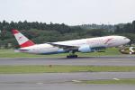 ANA744Foreverさんが、成田国際空港で撮影したオーストリア航空 777-2Z9/ERの航空フォト(写真)