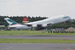 ANA744Foreverさんが、成田国際空港で撮影したキャセイパシフィック航空 747-467の航空フォト(写真)