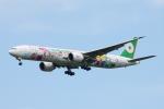 SKYLINEさんが、成田国際空港で撮影したエバー航空 777-35E/ERの航空フォト(飛行機 写真・画像)