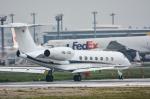 パンダさんが、成田国際空港で撮影したG5エグゼクティブ G-V-SP Gulfstream G550の航空フォト(写真)