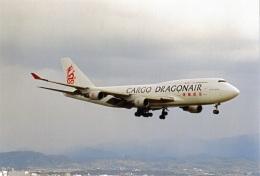 amagoさんが、関西国際空港で撮影した香港ドラゴン航空 747-412(BCF)の航空フォト(飛行機 写真・画像)