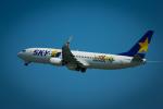 カヤノユウイチさんが、米子空港で撮影したスカイマーク 737-86Nの航空フォト(飛行機 写真・画像)
