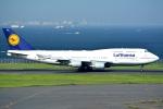 OKさんが、羽田空港で撮影したルフトハンザドイツ航空 747-430の航空フォト(写真)