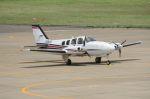 Cスマイルさんが、花巻空港で撮影した航空大学校 Baron G58の航空フォト(写真)