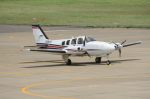 Cスマイルさんが、花巻空港で撮影した航空大学校 Baron G58の航空フォト(飛行機 写真・画像)